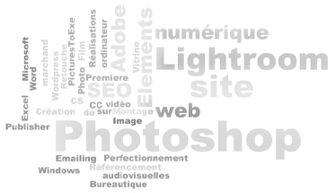 Formation Photoshop, Lightroom, Wordpress, à Toulouse (31) Haute Garonne